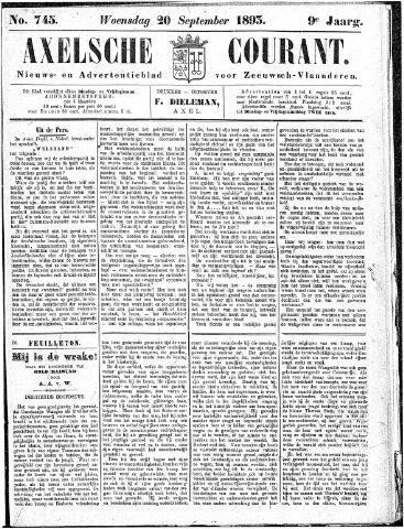 Axelsche Courant 1893-09-20