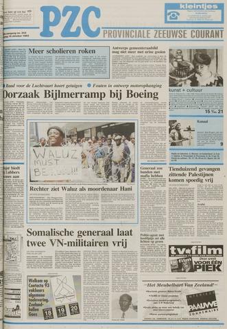 Provinciale Zeeuwse Courant 1993-10-15