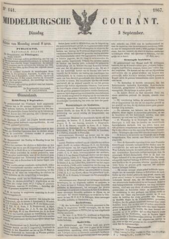 Middelburgsche Courant 1867-09-03