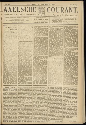 Axelsche Courant 1936-09-01
