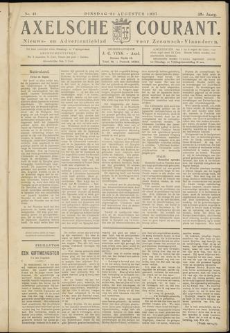 Axelsche Courant 1937-08-24