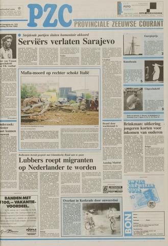Provinciale Zeeuwse Courant 1992-05-25