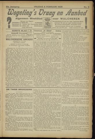 Zeeuwsch Nieuwsblad/Wegeling's Nieuwsblad 1925-02-06