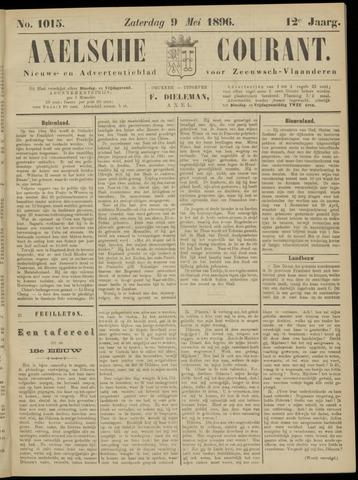 Axelsche Courant 1896-05-09