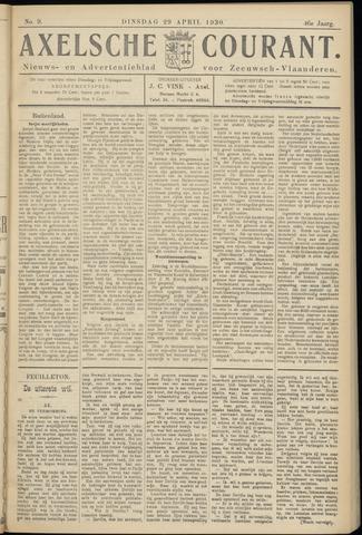 Axelsche Courant 1930-04-29