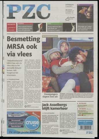 Provinciale Zeeuwse Courant 2013-05-02
