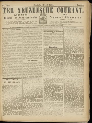 Ter Neuzensche Courant. Algemeen Nieuws- en Advertentieblad voor Zeeuwsch-Vlaanderen / Neuzensche Courant ... (idem) / (Algemeen) nieuws en advertentieblad voor Zeeuwsch-Vlaanderen 1904-07-28