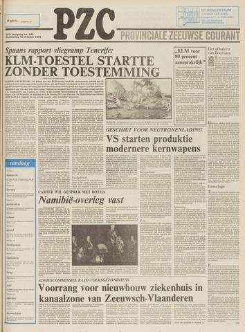 Provinciale Zeeuwse Courant 1978-10-19
