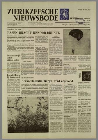 Zierikzeesche Nieuwsbode 1974-04-16