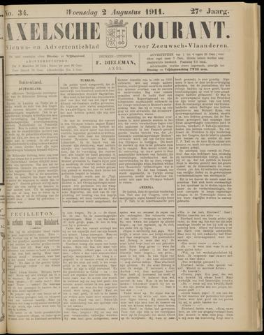 Axelsche Courant 1911-08-02