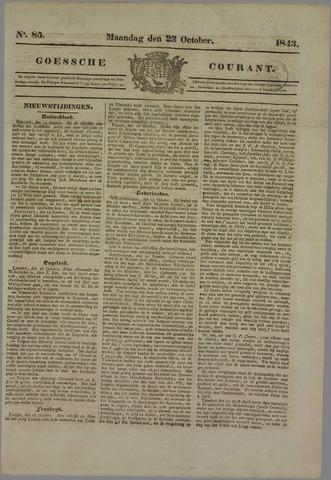 Goessche Courant 1843-10-23