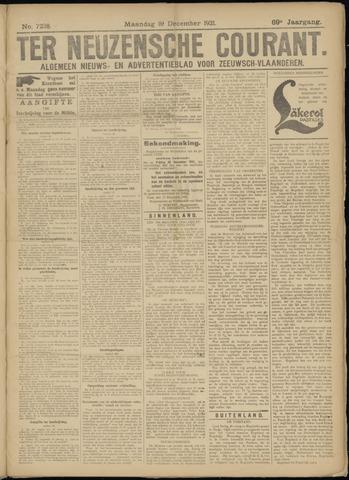 Ter Neuzensche Courant. Algemeen Nieuws- en Advertentieblad voor Zeeuwsch-Vlaanderen / Neuzensche Courant ... (idem) / (Algemeen) nieuws en advertentieblad voor Zeeuwsch-Vlaanderen 1921-12-19