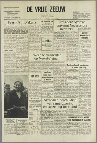 de Vrije Zeeuw 1965-04-24