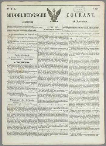 Middelburgsche Courant 1861-11-28