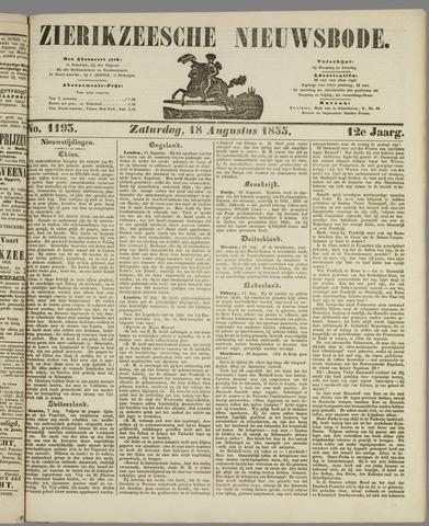 Zierikzeesche Nieuwsbode 1855-08-18