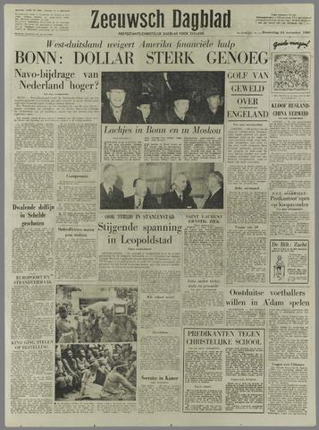 Zeeuwsch Dagblad 1960-11-24