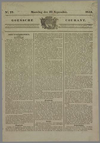 Goessche Courant 1844-09-23