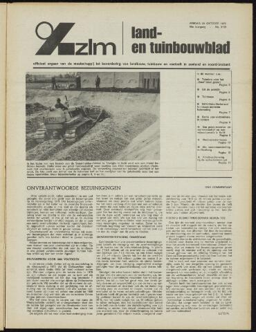 Zeeuwsch landbouwblad ... ZLM land- en tuinbouwblad 1972-10-20