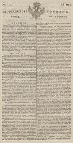 Middelburgsche Courant 1761-09-19