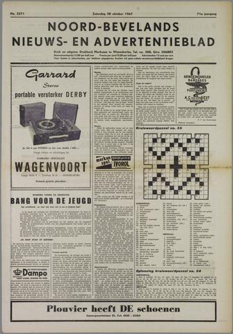 Noord-Bevelands Nieuws- en advertentieblad 1967-10-28