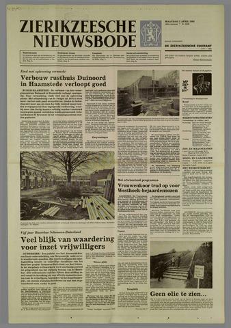 Zierikzeesche Nieuwsbode 1984-04-02