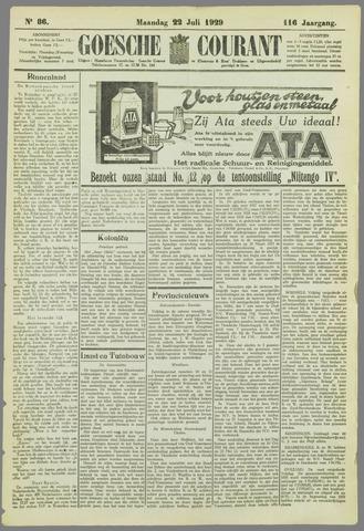 Goessche Courant 1929-07-22