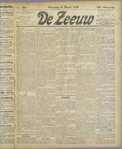 De Zeeuw. Christelijk-historisch nieuwsblad voor Zeeland 1919-03-03