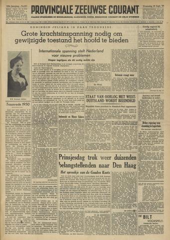 Provinciale Zeeuwse Courant 1950-09-20