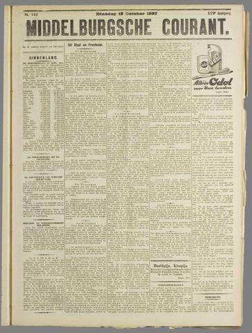 Middelburgsche Courant 1927-10-18