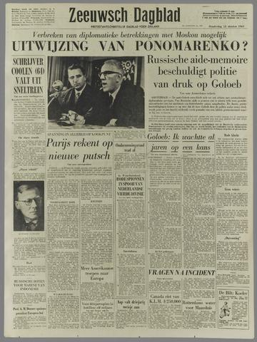 Zeeuwsch Dagblad 1961-10-12