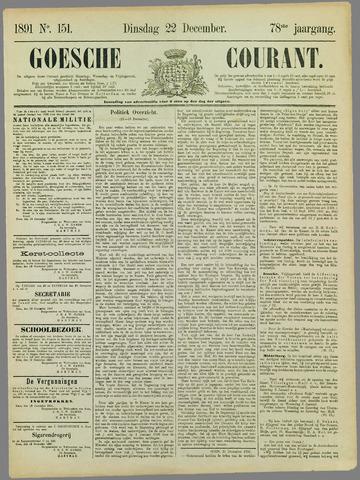 Goessche Courant 1891-12-22