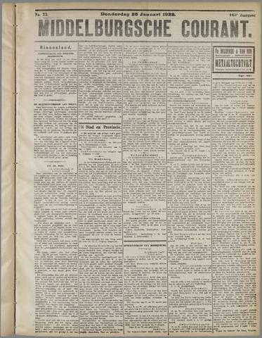 Middelburgsche Courant 1922-01-26