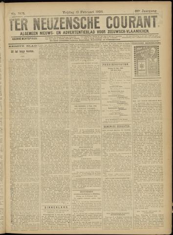 Ter Neuzensche Courant. Algemeen Nieuws- en Advertentieblad voor Zeeuwsch-Vlaanderen / Neuzensche Courant ... (idem) / (Algemeen) nieuws en advertentieblad voor Zeeuwsch-Vlaanderen 1926-02-12