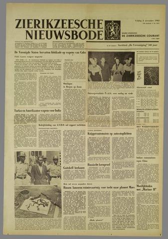 Zierikzeesche Nieuwsbode 1962-11-02