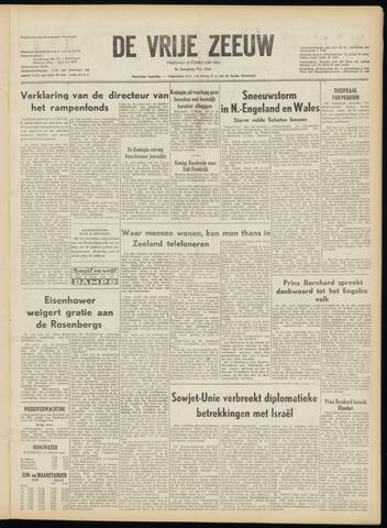 de Vrije Zeeuw 1953-02-13