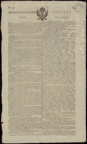 Middelburgsche Courant 1814-08-16