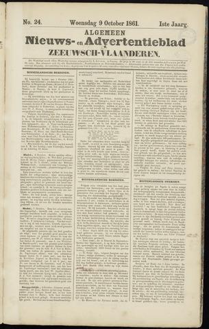 Ter Neuzensche Courant. Algemeen Nieuws- en Advertentieblad voor Zeeuwsch-Vlaanderen / Neuzensche Courant ... (idem) / (Algemeen) nieuws en advertentieblad voor Zeeuwsch-Vlaanderen 1861-10-09