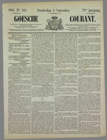 Goessche Courant 1884-09-04