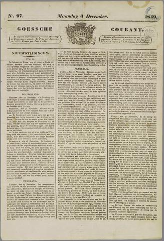 Goessche Courant 1849-12-03