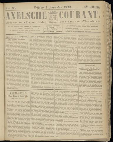 Axelsche Courant 1922-08-04