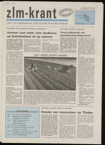 Zeeuwsch landbouwblad ... ZLM land- en tuinbouwblad 1993-04-16
