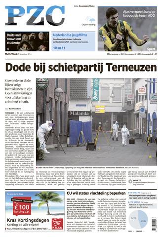 Provinciale Zeeuwse Courant 2014-12-01