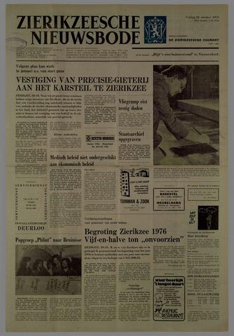 Zierikzeesche Nieuwsbode 1975-10-31