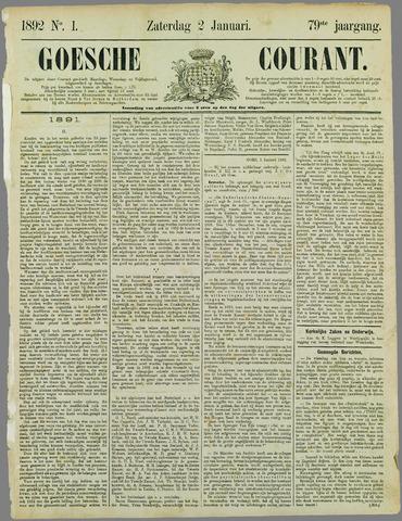 Goessche Courant 1892