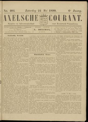 Axelsche Courant 1890-05-24