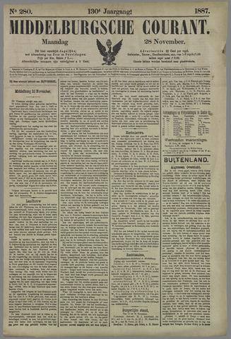 Middelburgsche Courant 1887-11-28