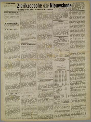 Zierikzeesche Nieuwsbode 1921-01-12