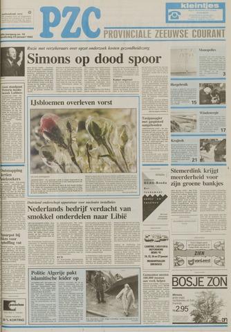 Provinciale Zeeuwse Courant 1992-01-23
