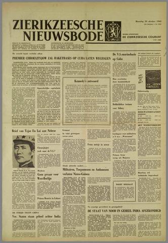 Zierikzeesche Nieuwsbode 1962-10-29
