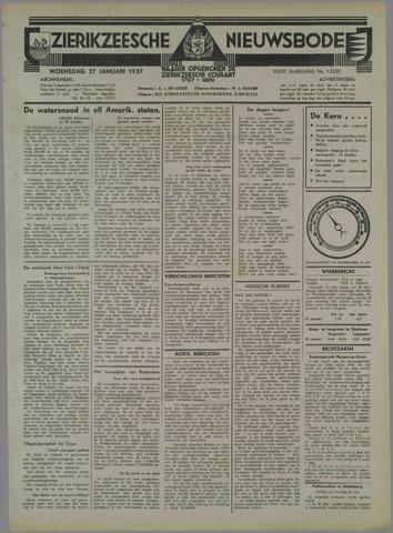 Zierikzeesche Nieuwsbode 1937-01-27